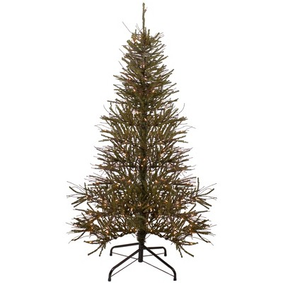 Northlight 6' Prelit Artificial Christmas Tree Warsaw Twig - Clear Lights