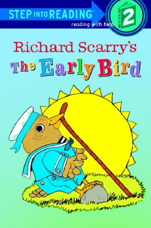 Lowly Worm Meets the Early Bird (Paperback) (Richard Scarry) - image 1 of 1