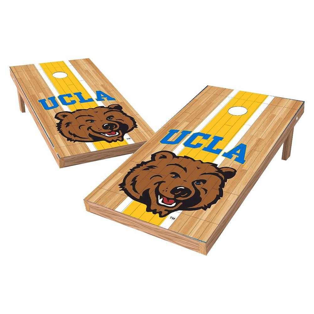 NCAA Wild Sports2' x 4' Heritage Design Authentic Cornhole Set Ucla Bruins