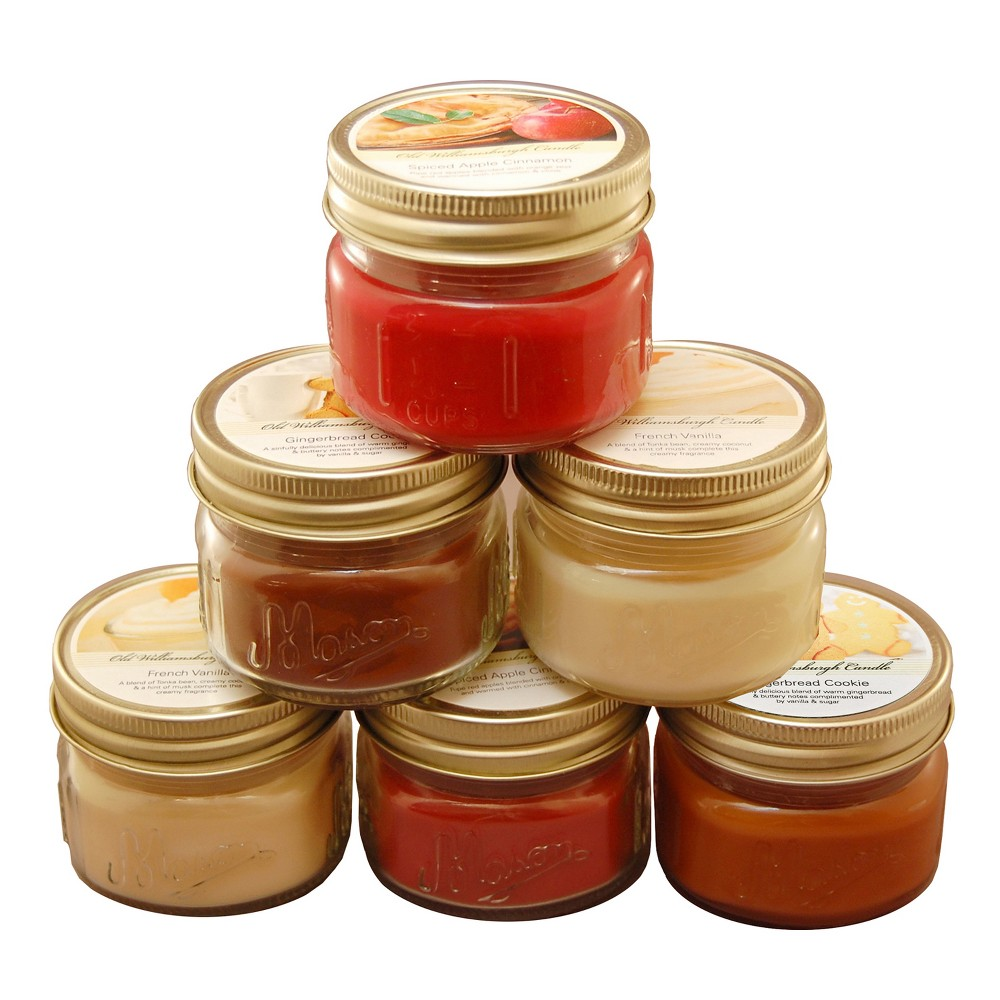 Image of 3oz 6ct Holiday Collection Scented Candle Set - LumaBase