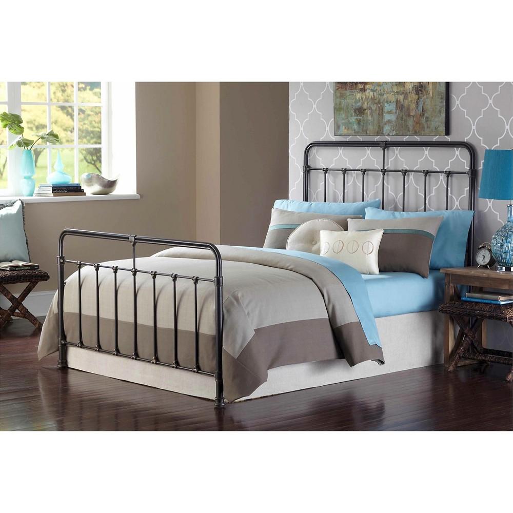 Fairfield Bed Dark Roast (Queen) - Fashion Bed Group, Dark Oak