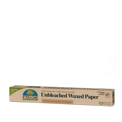 Wax Paper: If You Care