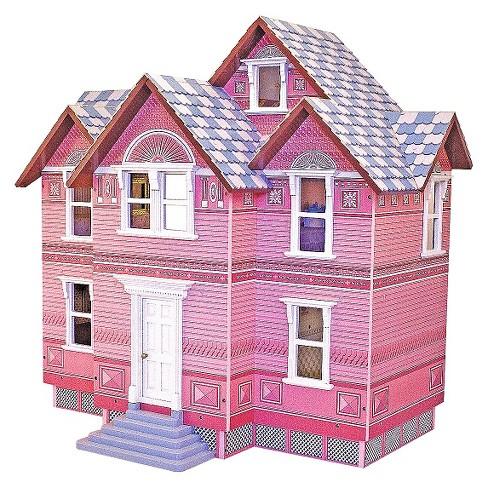 Melissa Doug Classic Heirloom Victorian Wooden Dollhouse Target