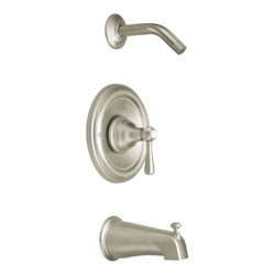 Moen T2113NH Posi-Temp Pressure Balanced Tub and Shower Trim and Tub Spout from