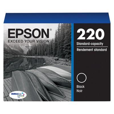 Epson 220 Single, 2pk, 3pk & 4pk Ink Cartridges - Black, Yellow, Magenta, Cyan, Multicolor