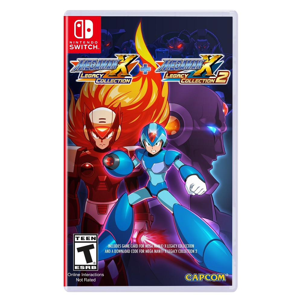 Mega Man X: Legacy Collection 1 & 2 - Nintendo Switch