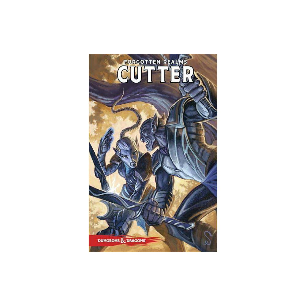 Cutter - (Dungeons & Dragons)by Geno Salvatore (Paperback) Robert Anthony Salvatore, who writes under the name R. A. Salvatore, is an American author best known for The DemonWars Saga, his Forgotten Realms novels, for which he created the popular character Drizzt Do'Urden, and Vector Prime, the first novel in the Star Wars: The New Jedi Orderseries. He has sold more than 15 million copies of his books in the United States alone and twenty-two of his titles have been New York Times best-sellers. Robert Salvatore was born in Leominster, Massachusetts, the youngest of a family of seven. A graduate of Leominster High School, Salvatore has credited his high school English teacher with being instrumental in his development as a writer. During his time at Fitchburg State College, he became interested in fantasy after reading J. R. R. Tolkien's The Lord of the Rings, given to him as a Christmas gift. He developed an interest in fantasy and other literature, promptly changing his major from computer science to journalism. He earned a Bachelor of Science Degree in Communications/Media from Fitchburg. He earned this degree in 1981 and later a Bachelor of Arts in English. Before taking up writing full-time, he worked as a bouncer, an experience to which he attirbutes his fierce and vividly described battle scenes. In the fall of 1997, his letters, manuscripts, and other professional papers were donated to the R.A. Salvatore Library at his alma mater, Fitchburg State University in Fitchburg, Massachusetts.