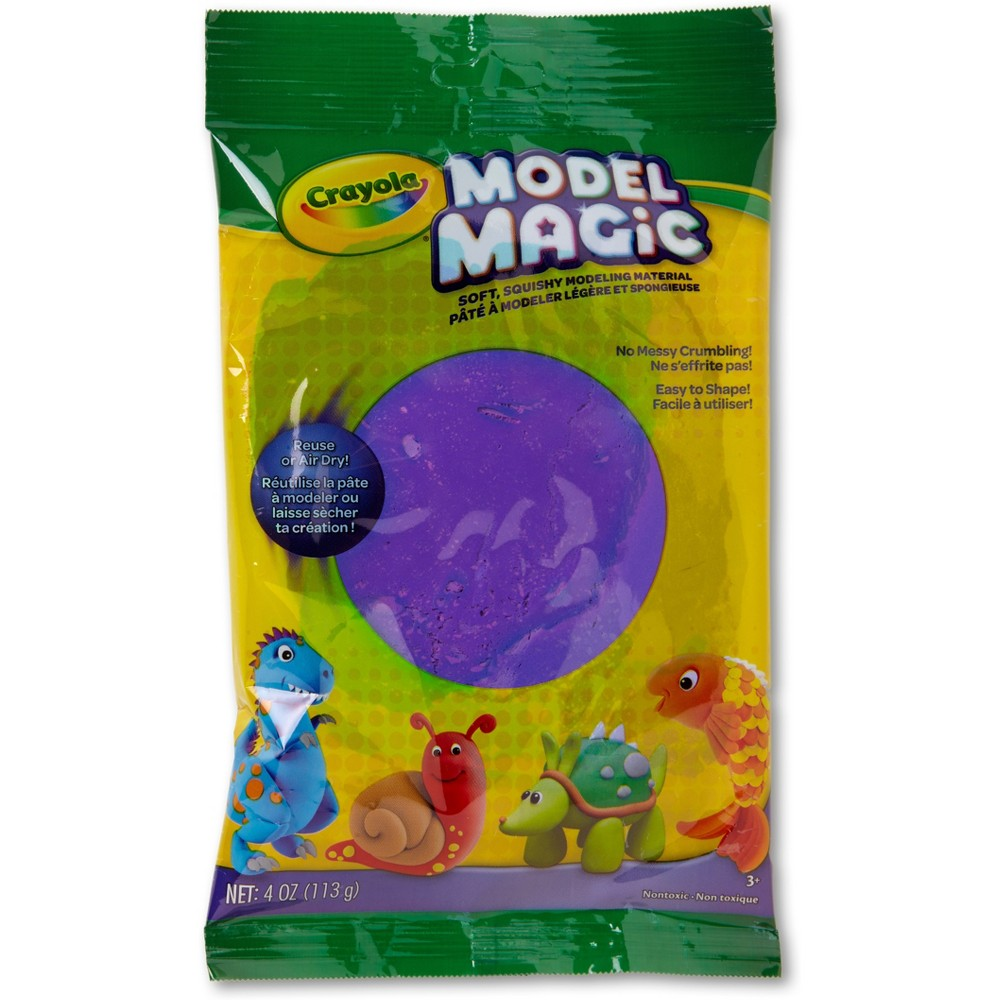 4oz Crayola Model Magic Clay - Purple