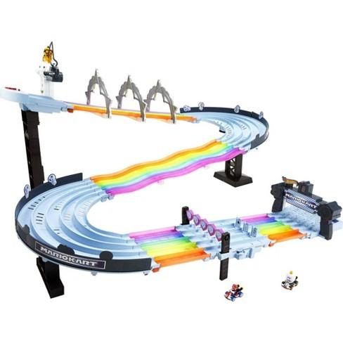 Hot Wheels Mario Kart Rainbow Road Raceway Track Set - image 1 of 4