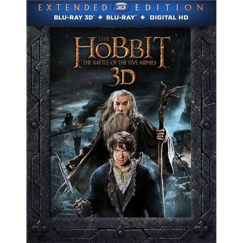 The Hobbit: The Battle of the Five Armies (Blu-ray) - image 1 of 1
