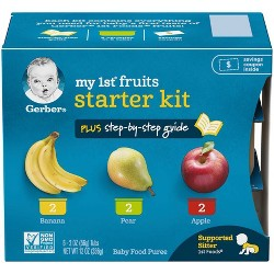 Gerber 2nd Foods Baby Food Apple Avocado - 4oz (2ct) : Target