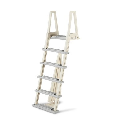 Confer 6000X 46-56 Inch Heavy-Duty Adjustable Above Ground Swimming Pool Ladder