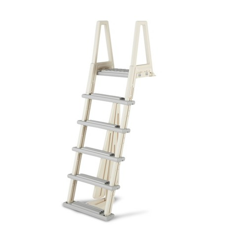 Confer 6000X 46-56 Inch Heavy-Duty Adjustable Above Ground Swimming Pool Ladder - image 1 of 4