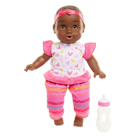 "Honestly Cute Feed My Baby 14"" African American Girl - image 1 of 8"