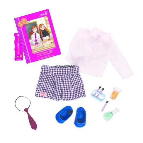 Our Generation Read & Play Set - Sia Book & Outfit - image 1 of 2