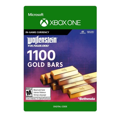 Wolfenstein: Youngblood 1100 Gold Bars - Xbox One (Digital) - image 1 of 1