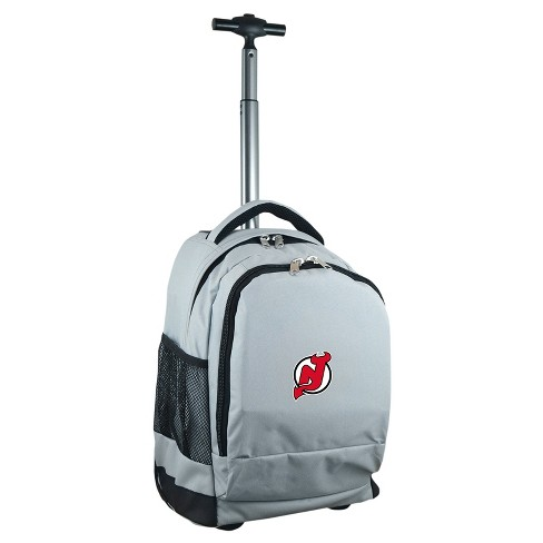 NHL Mojo New Jersey Devils Wheeled Backpack - Gray - image 1 of 4