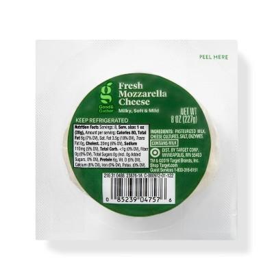 Fresh Mozzarella Cheese Ball - 8oz - Good & Gather™