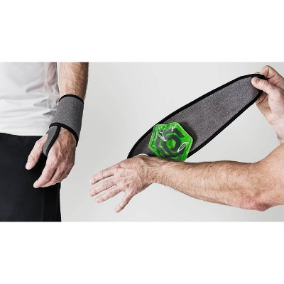 Neoprene Hand/Wrist Compression Sleeve + Two Attachable 4x4 Heat/Ice Gel Packs