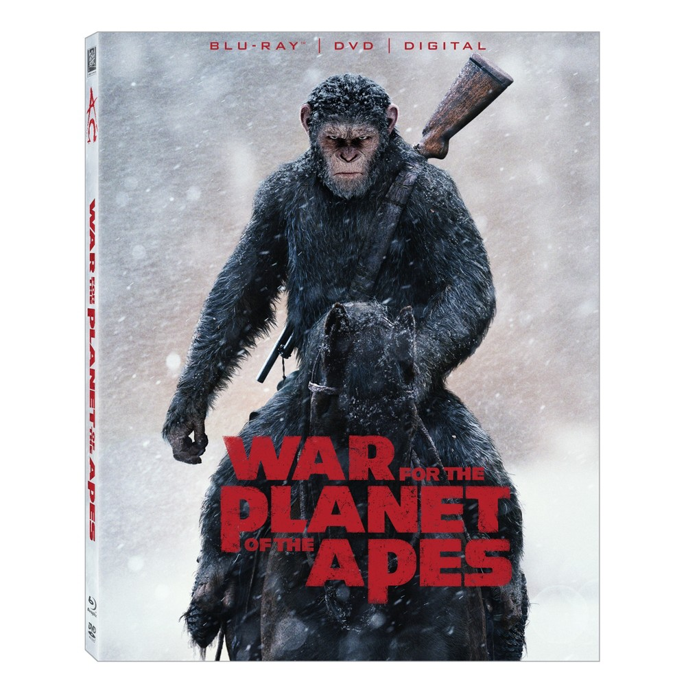 War For The Planet Of The Apes (Blu-ray + Dvd + Digital)