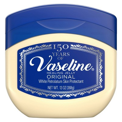 Vaseline Original 100% Pure Petroleum Jelly Skin Protectant - 13oz