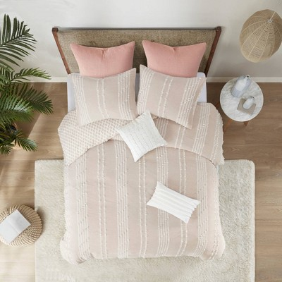 Kara Cotton Jacquard Duvet Cover Mini Set