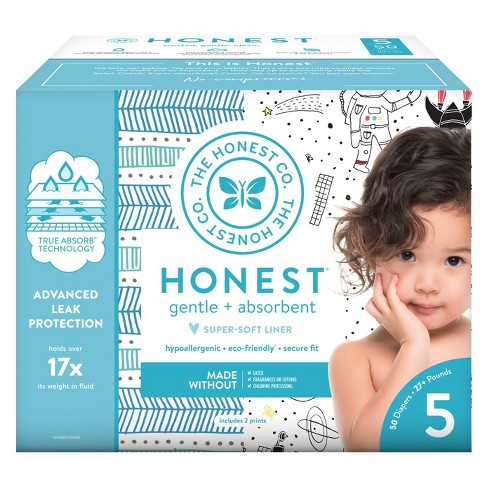Honest Company Disposable Diapers - Size 5 (Select Pattern) - image 1 of 4