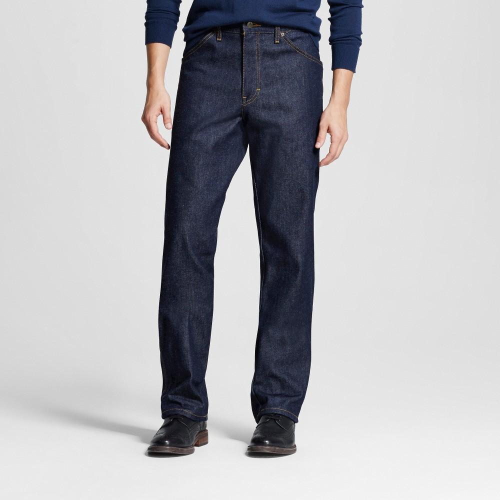 Dickies Men's Regular Straight Fit Denim 5-Pocket Jeans - Indigo Rigid 32x30