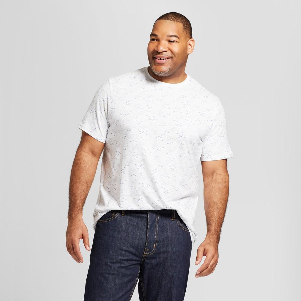 Men's Big & Tall Standard Fit Short Sleeve Crew Neck T-Shirt - Goodfellow & Co Horizon Blue 2XB