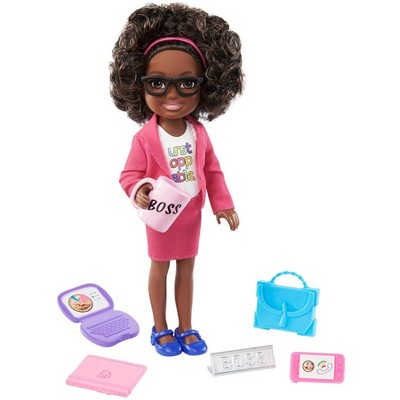 ​Barbie Chelsea Can Be Boss Doll Playset