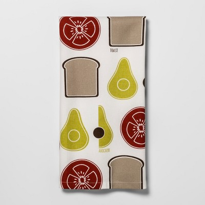 Orange Avocado Toast Kitchen Towel - Project 62™