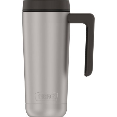 Thermos 18oz Stainless Steel Mug - Stainless with Black Lid