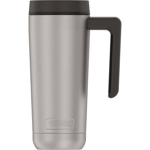 Thermos 18oz Stainless Steel Mug - Stainless with Black Lid - image 1 of 4