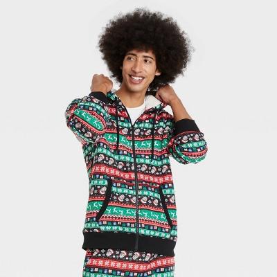 Men's Sherpa Sweatshirt - Black
