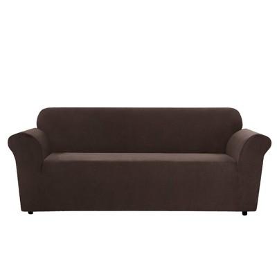 Stretch Micro Check Sofa Slipcover - Sure Fit