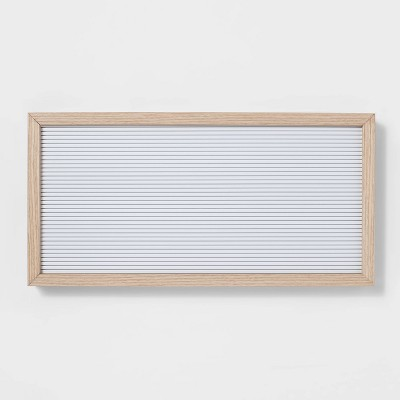 "20""x 10"" Letter Board White - Room Essentials™"