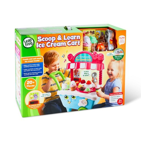LeapFrog Scoop and Learn Ice Cream Cart - image 1 of 4