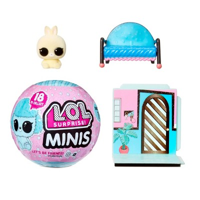 L.O.L. Surprise! Minis with 5+ Surprises - Fuzzy Tiny Animals, Collect to Build a Tiny House