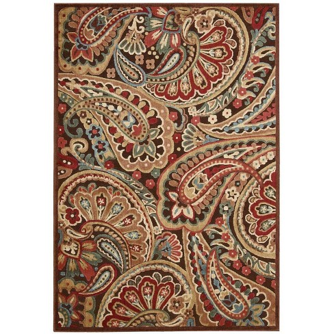 Nourison Graphic Illusions Multicolor Area Rug - image 1 of 4