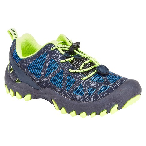 M.A.P. Toddler Boys' Troy Sneakers - Navy/Neon - image 1 of 3