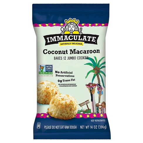 Immaculate Baking Cookie Coconut Macaroon 12 ct 14 oz - image 1 of 1