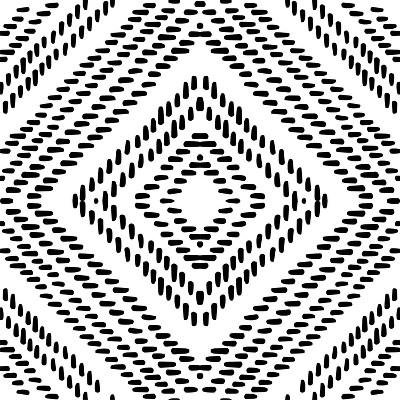RoomMates Santorini Peel & Stick Floor Tiles Black & White