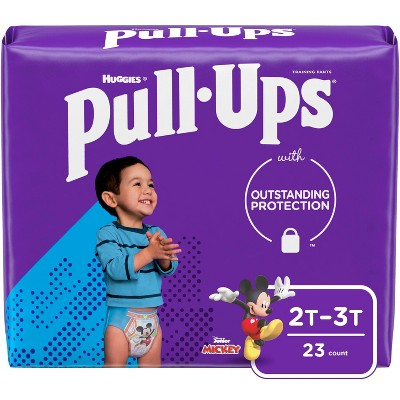 Huggies Pull-Ups Boys' Learning Designs Training Pants - Size 2T-3T - 23ct