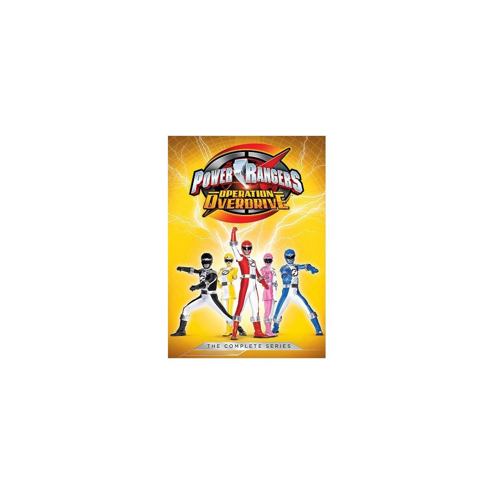 Power Rangers:Operation Overdrive Com (Dvd)