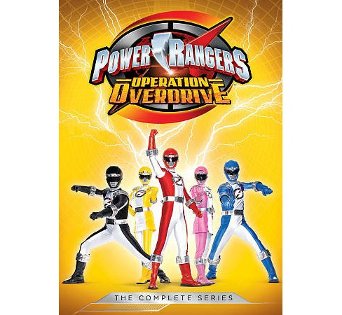 Power Rangers:Operation Overdrive Com (DVD) - image 1 of 1