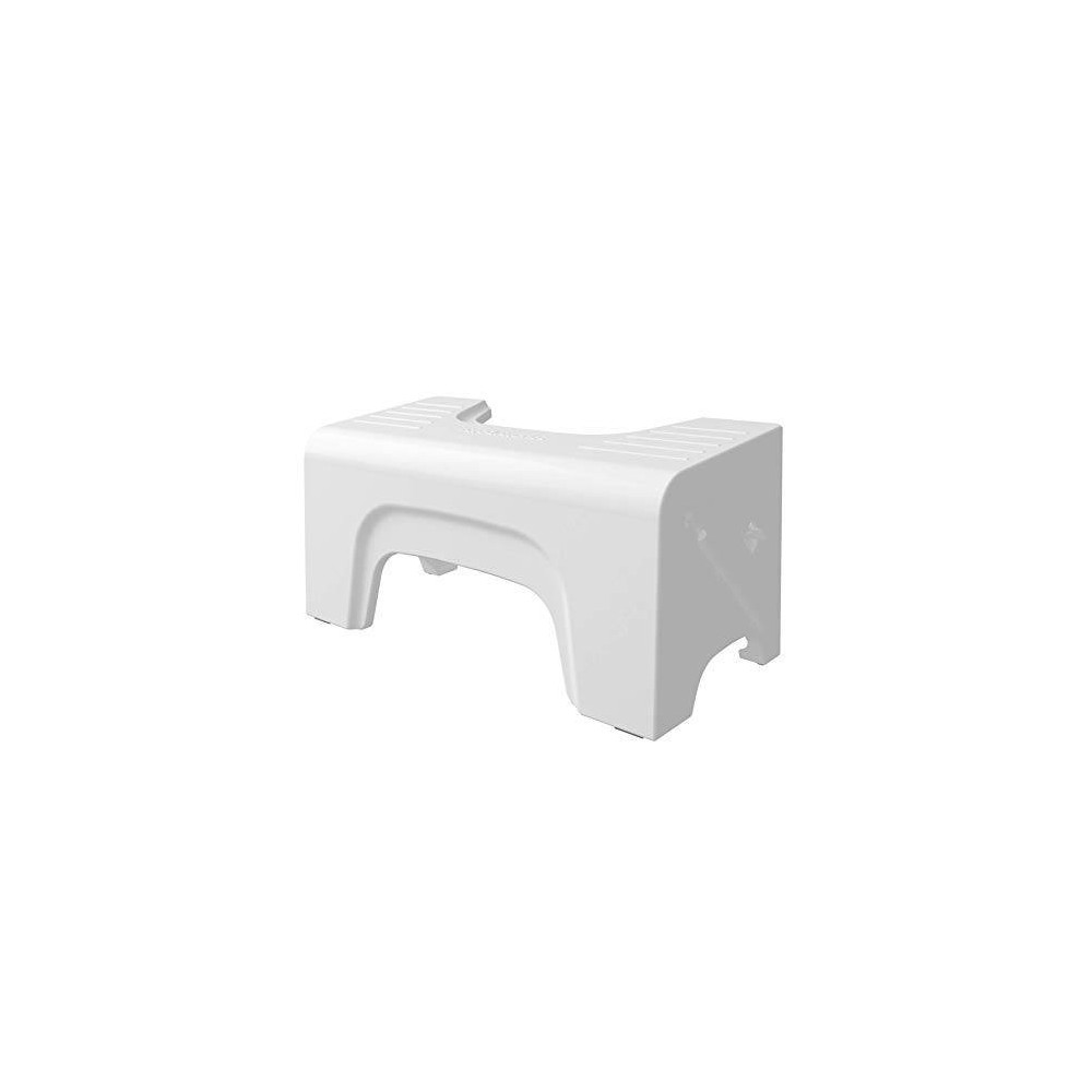 "Image of ""7"""" Fold-N-Stow Foldable Toilet Stool White - Squatty Potty"""