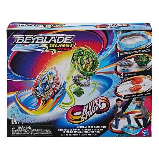 Beyblade Burst Rise Hypersphere Vertical Drop Battle Set image number null