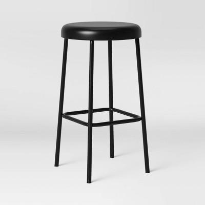 Basic Metal Counter Height Barstool - Room Essentials™