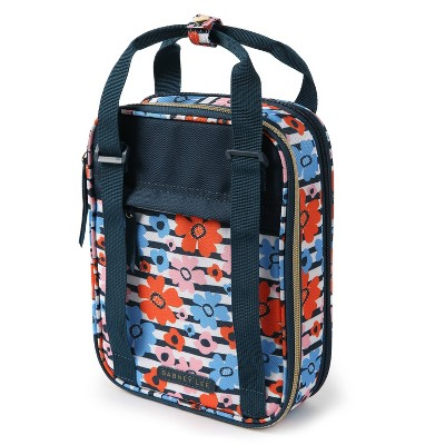 Dabney Lee by Arctic Zone Expandable Lunch Bag - Orange Minty Floral