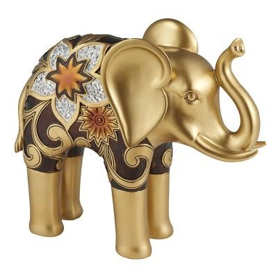 "Ok Lighting 10""H Azalea Decorative Elephant"